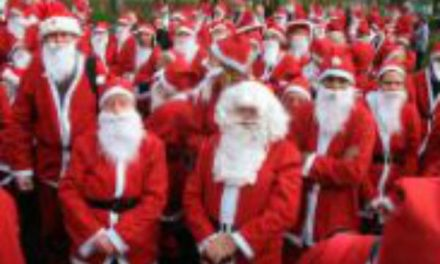 Hospice Santa dash is taking place on Sunday