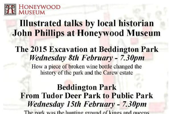 Two great talks on Beddington Park at Honeywood Museum