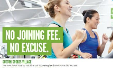 No joining fee gym offer – Better, Sutton Sports Village.