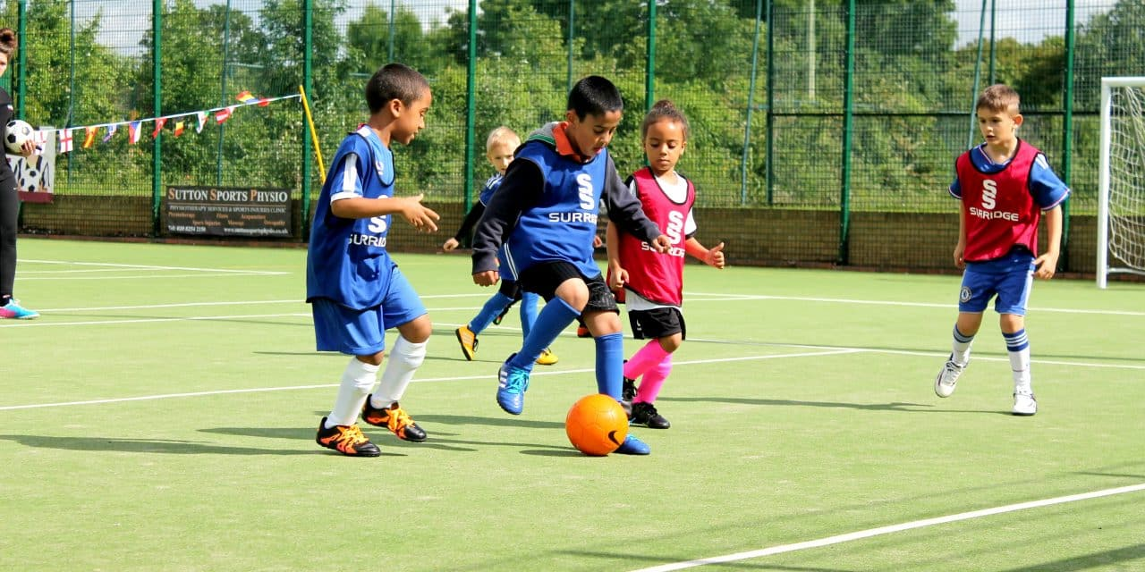 Sports Village offer new football classes for winter term