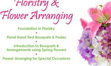 Fantastic range of floristry courses from Sutton College