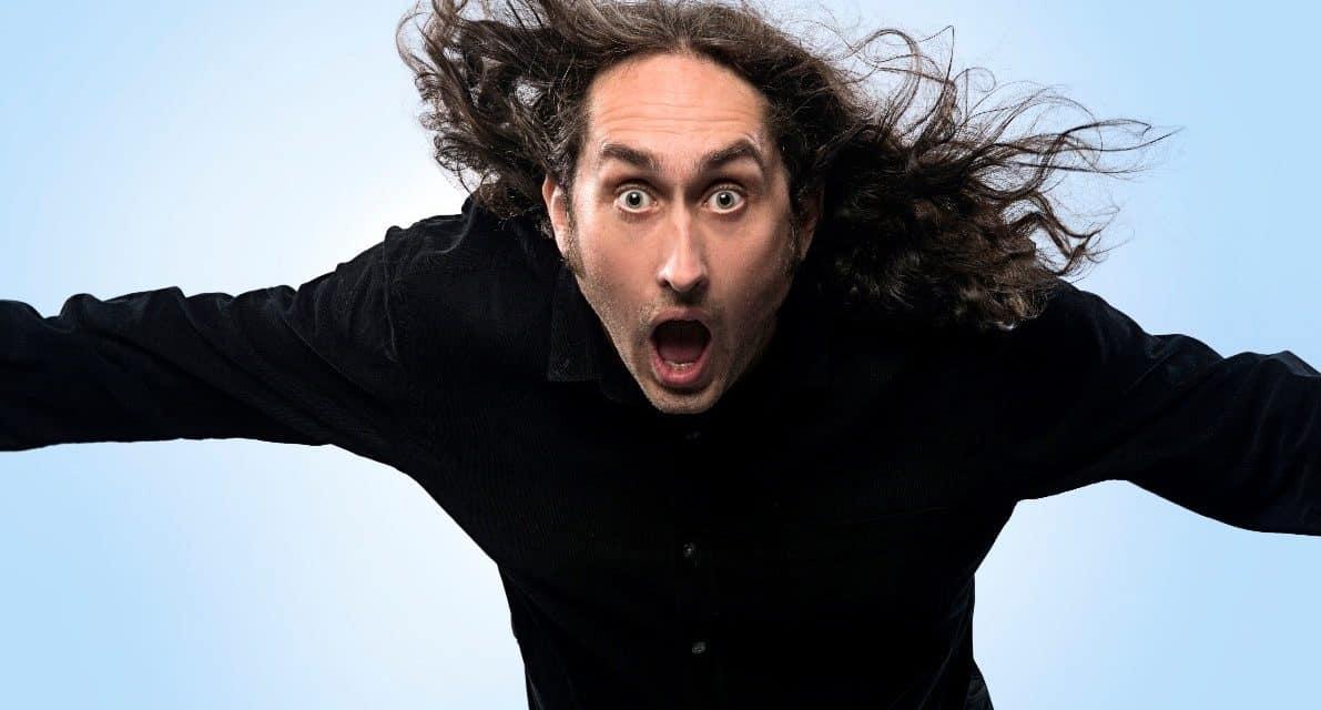 """Ross Noble's """"Brain Dump"""" tour is at Richmond"""