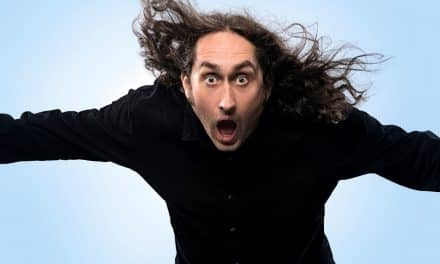 "Ross Noble's ""Brain Dump"" tour is at Richmond"