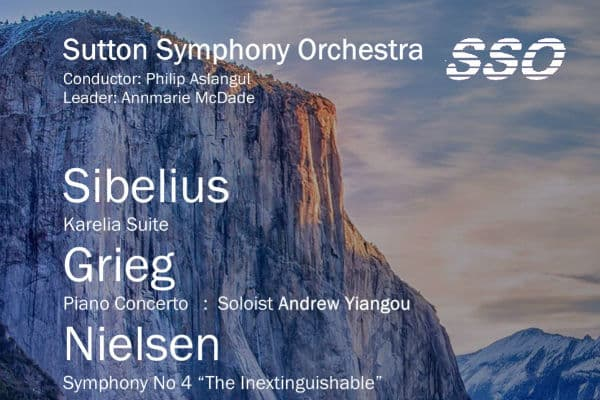Nordic inspired programme for Sutton Symphony Orchestra