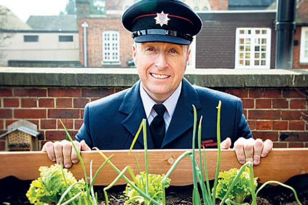 Firefighter rewarded with British Empire Medal