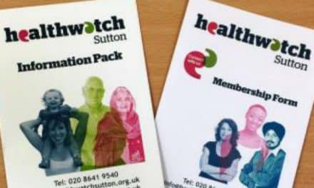 Come along and see Healthwatch Sutton present at St Helier Hospital
