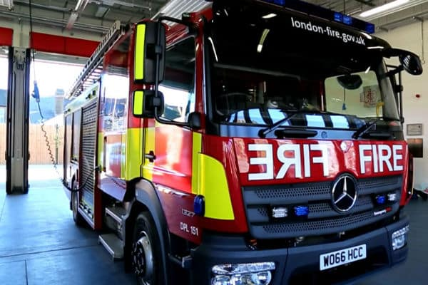 New fire engine on show – first one in decade