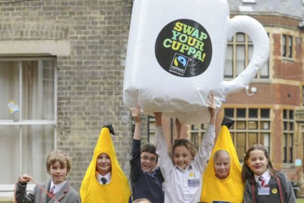 Sainsbury's superstore to help with Fairtrade fortnight