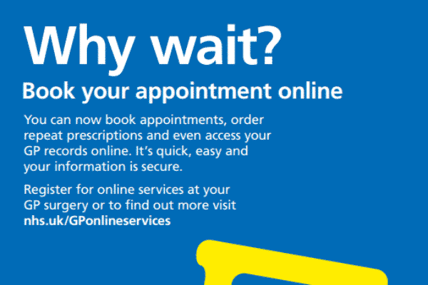 Online booking and prescriptions for Sutton GP surgeries – sign up now