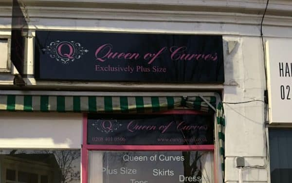Queen of Curves store – plus size is beautiful