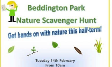 Great family friendly free scavanger hunt at Beddington Park