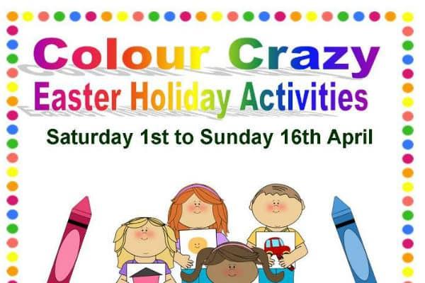 Go Colour Crazy at Carshalton's Honeywood this Easter