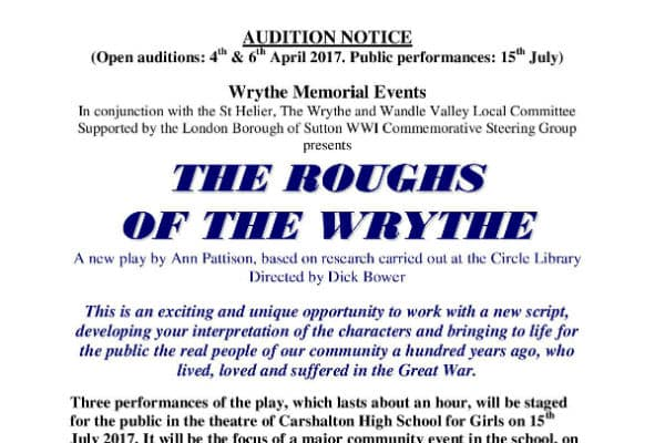 Final call for budding actors who want to take part in unique WW1 project