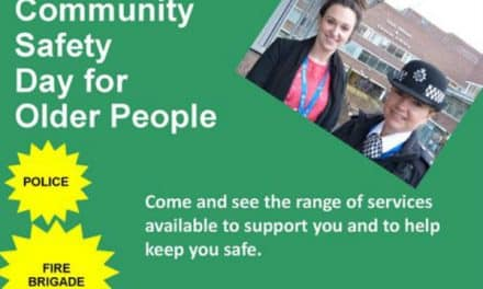 Great range of organisations meet up for borough's community safety day