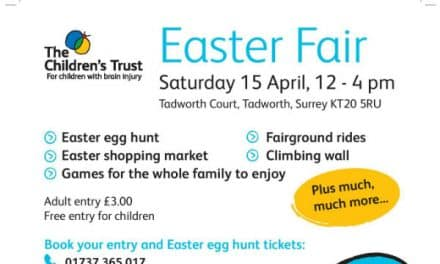 Family fun at The Children's Trust Easter Fair