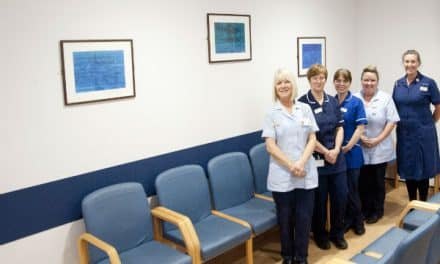 £150,000 new outpatient area opens at St Helier