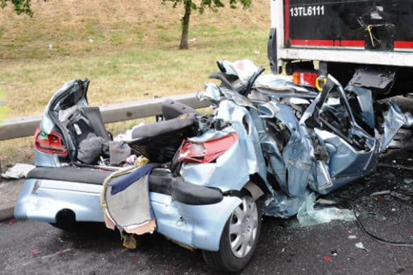 Firefighter visits to road traffic collisions at five year high