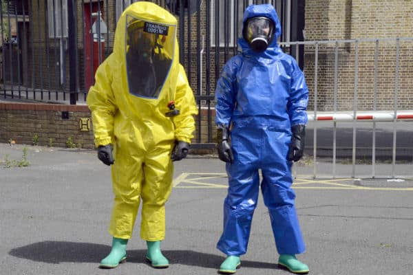 London Fire brigade launch new gas suits