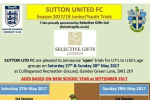 sutton united open trials