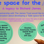 """Invitation to organisations to discuss """"Safe space for the arts"""""""