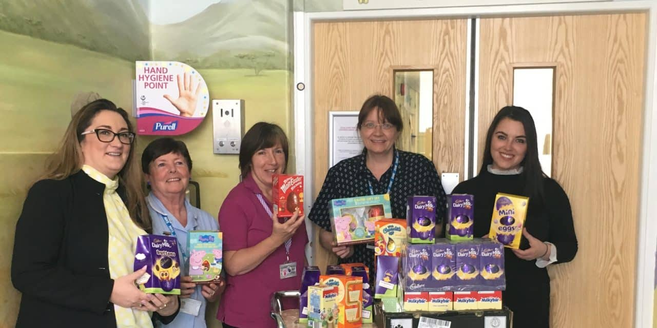 Kind hearts lead to Easter treat for children