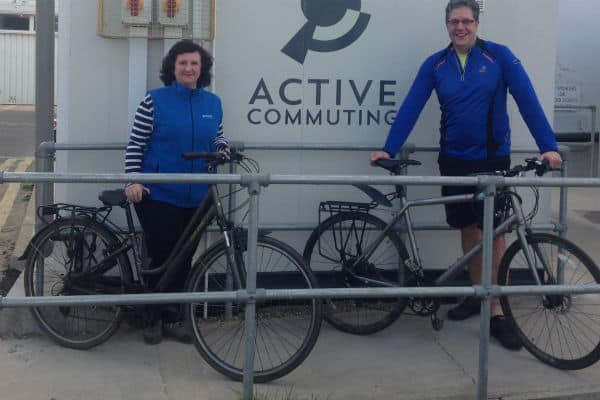 On yer bike! St Helier unveils state-of-the-art cycling facilities for staff
