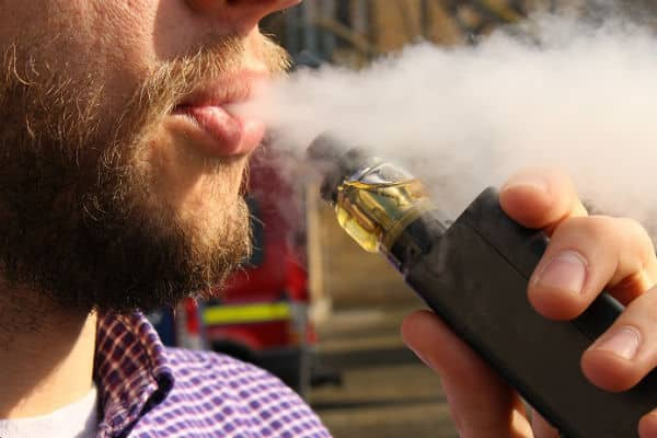 "Switch to ""vaping"" and reduce risk of dying from fire"