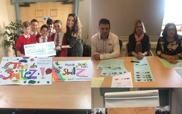Junior dragons challenge raise cash for charities