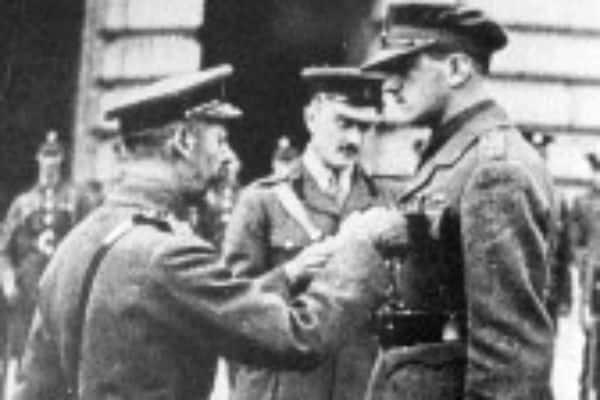 Wallington VC war hero commemmorated in Memorial Garden