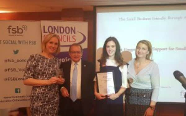 "Top prize for ""pop up"" small business initiative"