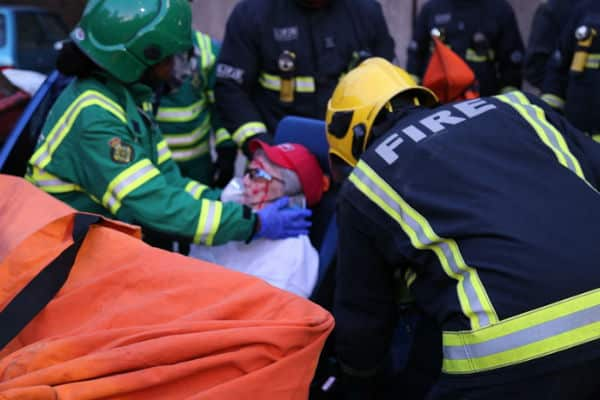 Total of Fire Brigade attended road crashes rises