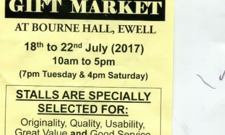 Latest five day gift market at Bourne Hall