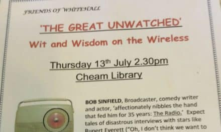 "Friends host talk on ""Wit and Wisdom"" of the wireless"