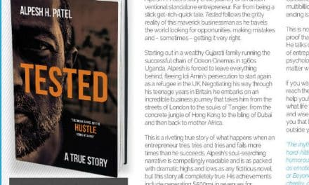 Tested – book which shows success of refugee