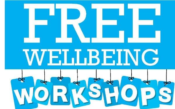 Fantastic free wellbeing workshops at the Riverside centre
