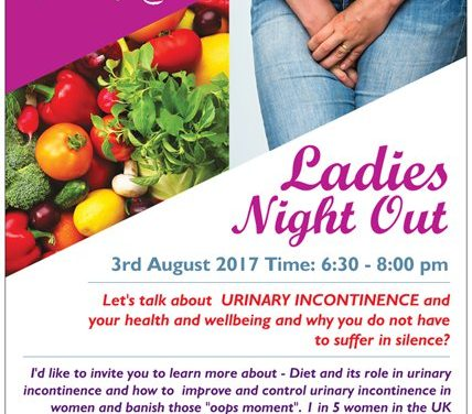 "Come to a ""Ladies Night Out"" with nutritionist in Wallington"