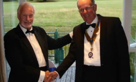 Author Gordon is new president of Sutton Nonsuch Rotary