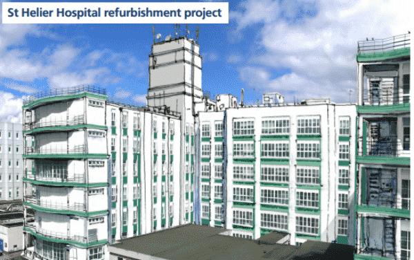 St Helier Hospital's £12 million facelift begins