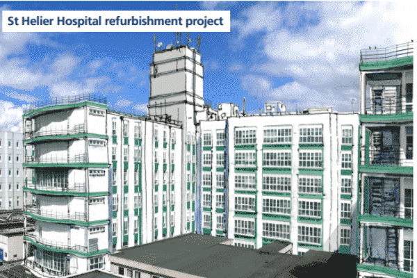 St Helier Hospital's £12 million facelift begins