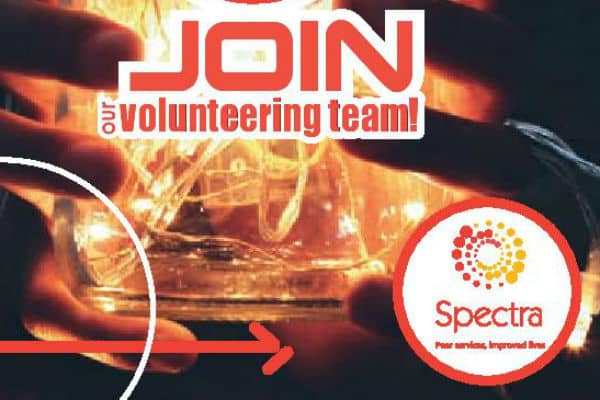SPECTRA needs volunteers