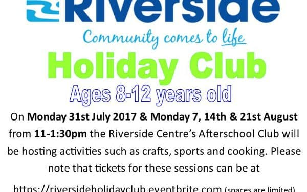 Fantastic range of events at Riverside Holiday Club this summer