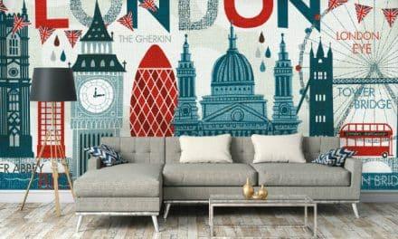 Sites of London make unique new wallpaper