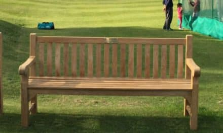 Chance for a lasting legacy with sponsorship of cricket club bench