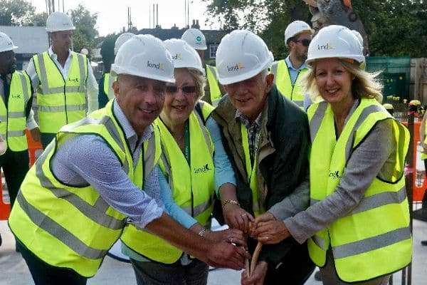 Construction starts on first new council homes for nearly 30 years