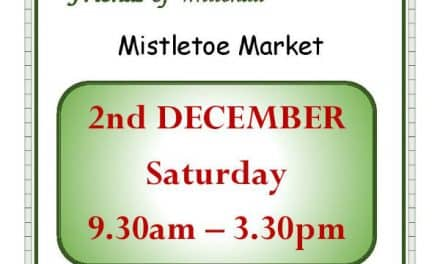 Book the date – Mistletoe market in Cheam