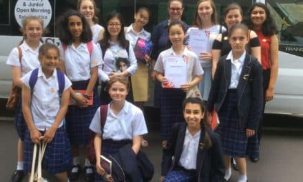 Heats triumph for Sutton High School students
