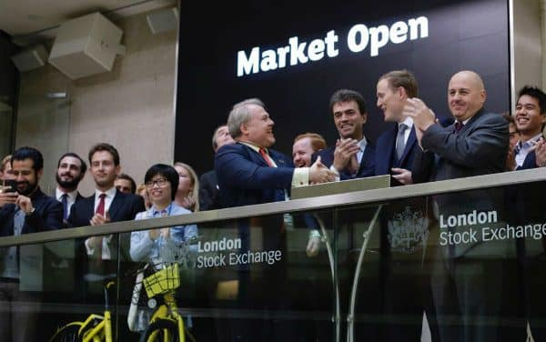 "MP attends stock exchange launch for ""dockless"" bicycles"