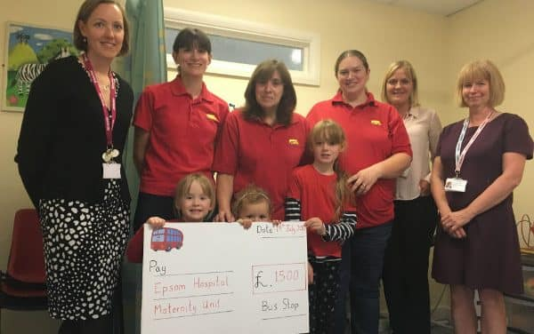Room to breathe – £1,500 donation for St Helier Neonatal Unit