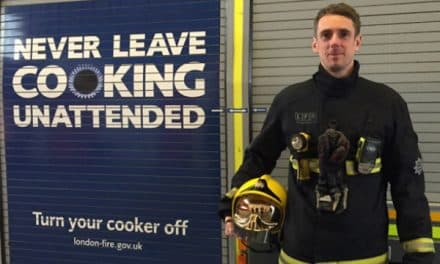 Great British Bake Off helps Fire Brigade to remind cooks to be careful!