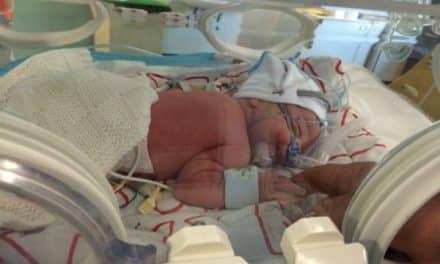 Grateful mum raises over £3,500 for St Helier's Neonatal Unit